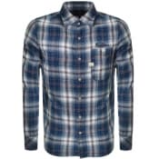 Product Image for G Star Raw Bristum Slim Check Shirt Blue